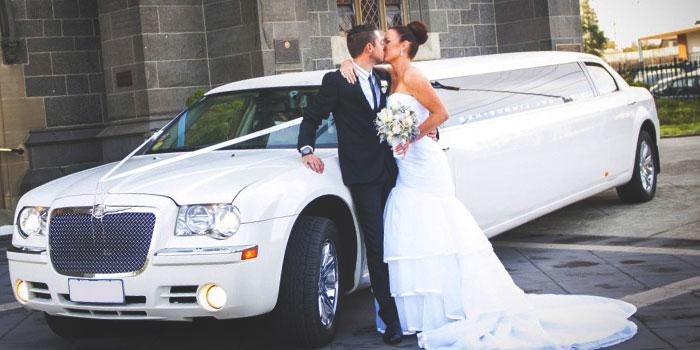 Аренда лимузина на свадьбу